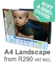 2. A4 & A5 Landscape Books