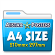 A4 For Her Posters