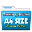 A4 Grand Parents Posters