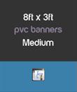 02 Medium - 8ft x 3ft