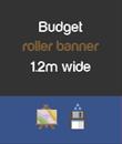 Budget 1.2m wide