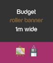 Budget 1m wide