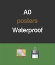 A0 - Waterproof Posters