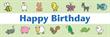 PVC Banner - 6ft x 2ft - Childrens Birthday - 3