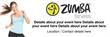 PVC Banner - 6ft x 2ft - Zumba  Fitness - 1