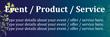 PVC Banner - 6ft x 2ft - Modern Floral - 1 - Blue