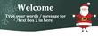 PVC Banner - 8ft x 3ft - Christmas - 1 - Green