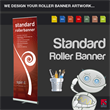 Standard Roller Banner - We design it for you