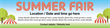 PVC Banner - 12ft x 3ft - Summer Fair - 1