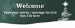 PVC Banner - 8ft x 3ft - Christmas 2 - Green