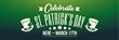 PVC Banner - 6ft x 2ft - St Patrick's Day - 1
