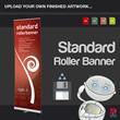 Standard Roller Banner - Upload your finished artwork