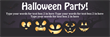 PVC Banner - 6ft x 2ft - Halloween - 1 - Purple
