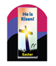 Church Banner Stands - Easter