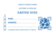 Easter Dues Envelope 004