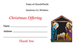 Christmas Dues Envelope 005