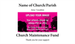 Church Maintenance Envelope 2