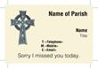Church Calling Card 003