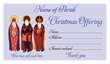 Christmas Dues Envelope 009