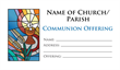 Communion Offering Envelope 1
