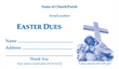 Easter Dues Envelope 009