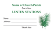 Lenten Stations Envelope 2
