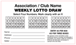 Lotto Envelope Large