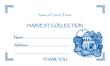 Harvest Dues Envelope 2