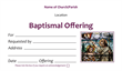 Baptismal Offering Envelope 2