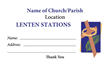 Lenten Stations Envelope 3