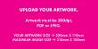 DL Envelope Artwork Upload