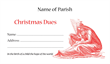 Christmas Dues Envelope 010