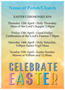 Parish Easter A3 Poster