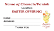 Easter Dues Envelope 011