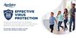 Effective Virus Protection Postcard - Virus Version #7507