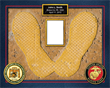 MCRD SAN DIEGO YELLOW FOOTPRINT CUSTOM PRINT UNFRAMED